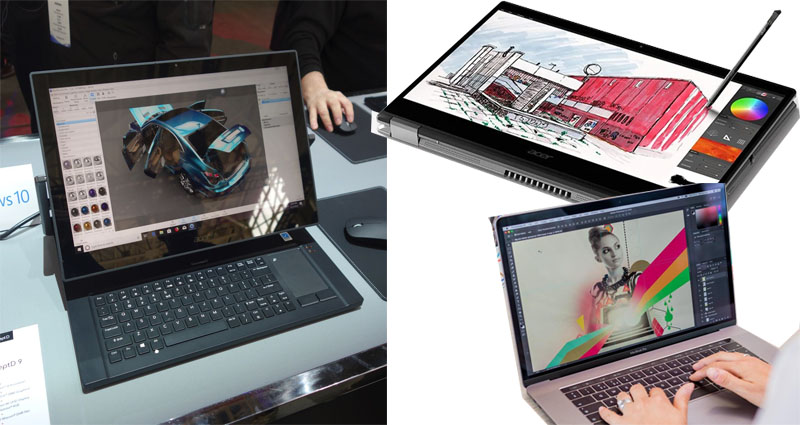 The ideal Graphic Design Laptops